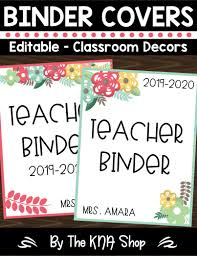 Free Editable Binder Covers And Spines Editable Binder Covers And Spines