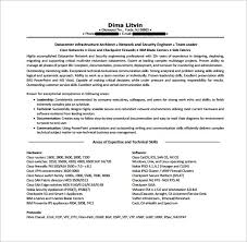 Cisco Network Engineer Resume Free PDF Template