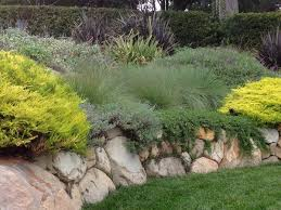 Small Picture Boulder retaining wall design eye catching garden wall ideas