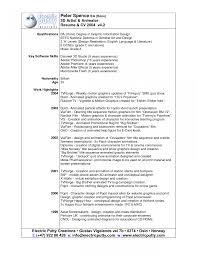 Modeler Resume Objectives Example Templates Sample Artist Resumes