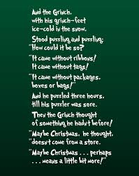 The Grinch Famous Quotes