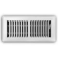 white floor diffuser