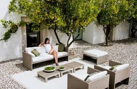 designer garden furniture for outdoor living dining rooms