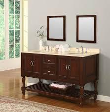 bathroom vanity 60 inch: fresh ideas bathroom vanities  inch pleasing j amp international espresso turnleg double bathroom vanity
