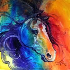 abstract horse painting wild horses wall art prints famous abstract horse painting