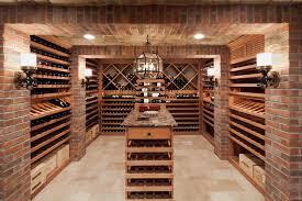 wine rack furniture cellar traditional with lantern chandelier racks