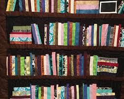 Bookshelf quilt | Etsy & author quilt, quilt for authors, custom book quilt, bookcase, bookcase quilt , Adamdwight.com
