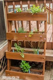 diy window box herb garden unoriginal mom