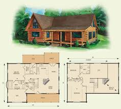 house plans with loft. Cabin Floor Loft With House Plans | Dogwood II Log Home And Plan O