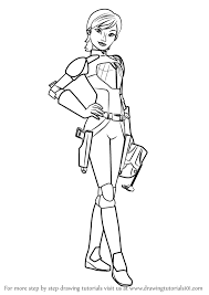 Small Picture Learn How to Draw Sabine Wren from Star Wars Rebels Star Wars