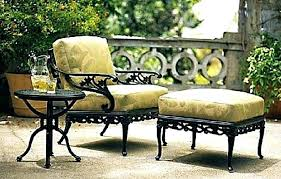 outdoor wicker chair cushions patio furniture clearance wrought iron best furnit