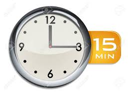 Timer 15 Office Wall Clock Timer 15 Minutes