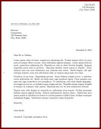 how to write formal letter formal letter 2