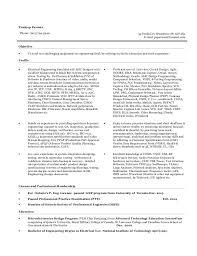 Test Engineer Resume Objective Resume For System Integration Design Testing Qa Verification And Va