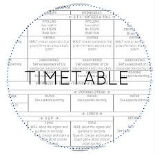 Daily Time Table Daily Timetable Gladstone Primary School