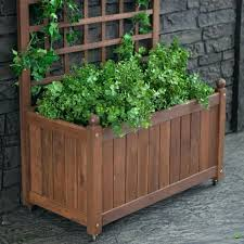 flower box with trellis lattice planter best images on ikea