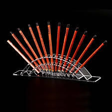 How To Make A Pen Display Stand Amazing Acrylic 32 Penholder Eyebrow Eyeliner Pencil Make Up Pen Display