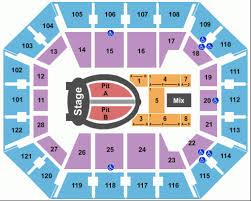 Mohegan Arena Seating Chart Mohegan Sun Arena Layout Mohegan Sun Arena Ticket Mohegan