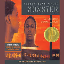 class reenactment of monster by walter dean myers showtime  week 7 class reading of monster by walter dean myers as well as reenactment preparation journal entries vocabulary hw continuing to learn how to