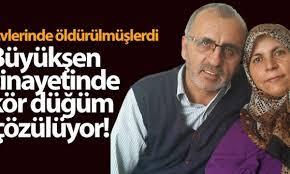 Konya'daki Büyükşen çifti cinayetinde 24 gözaltı