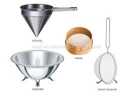 kitchen utensils list. For Straining And Draining Kitchen Utensils List