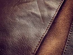 diffe types of leather