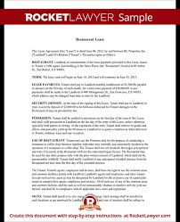 lease contract template restaurant lease agreement template lease form with sample