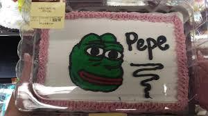half sheet cake price walmart pepe cake i found at walmart the_donald