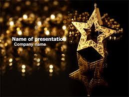 star ppt template gold star powerpoint template backgrounds 03748 poweredtemplate com
