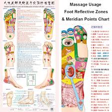 Leg Acupressure Points Chart Us 7 5 25 Off Standard Meridian Acupuncture Points Chart And Zhenjiu Moxibustion Acupoint Massage Chart For Head Hand Foot Body Health Care In