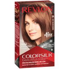 Revlon 54 Light Golden Brown Revlon Colorsilk Hair Color 54 Light Golden Brown 1 Each Pack Of 2