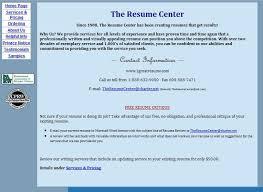 Preparation Of Resume For Job