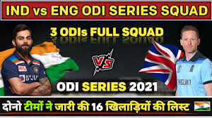 You can support quality journalism by turning off ad blocker or purchase a subscription for unlimited access to the hindu. India Vs England 2021 Odi Series Full Squad Of Both Teams Ind Vs Eng 2021 Squad Youtube