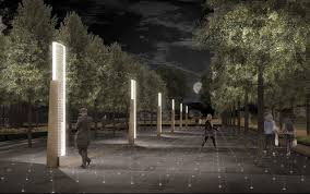 luminosity lighting milwaukee. national wwi memorial luminosity lighting milwaukee
