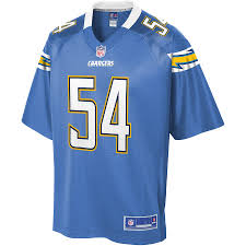 Nfl Line Powder Player Los Team Men's Melvin Alternate Ingram Color Blue Pro Chargers Jersey Angeles