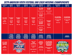 Championships American Youth Football Cheer