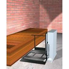 Freedom 28 Outdoor Wheelchair Lift for Home Adjacent Right