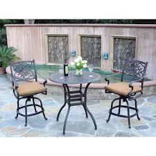 Meadow decor kingston 36 in counter height patio bistro set walmart com