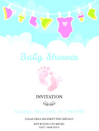 Free Printable Baby Shower Invitations For Girls Printable Baby Shower Invites Credidescuentos Com Co
