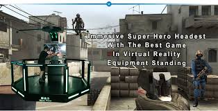 htc vive shooting game. hot sale vr 9d cs shooting game simulator htc vive 9d virtual reality games fighting htc vive