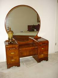 vintage vanity with round mirror brilliant antique vanity table with mirror and bench with painted