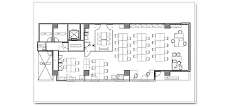 50坪のオフィスレイアウト