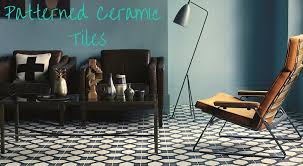 there s endless potential for getting creative and bold geometric designs such as fired earth s trellis porcelain tiles are particularly popular at the