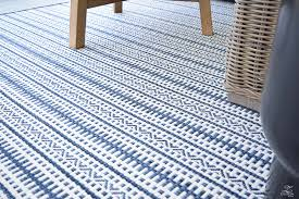 blue and white outdoor rug outstanding interior design 6
