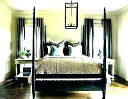 Home Improvement Canopy Poster Bed 4 For Appealing Mahogany ...