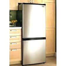 apartment sized refrigerator. Refrigerator Only Freezer Apartment Size Dimensions 9 2 Cu Ft Stainless Sized Z