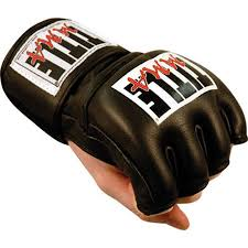 Title Boxing Mma Cage And Competition Gloves Black