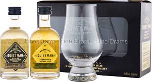 quiet man glencairn gift pack 2 miniatures