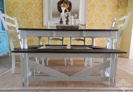 Painted Dining Table Then Dining Table Makeover Whitewash Table - Dining room two tone paint ideas
