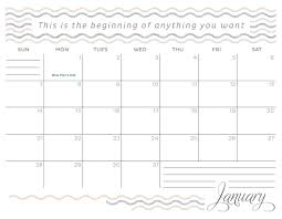 inspirational january 2018 desk calendar